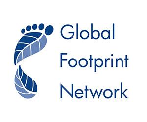 Global Footprint Network: Logo on White