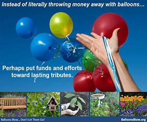Ballons Blow: Lasting Tributes