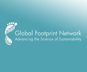 Footprint Calculator:  Logo on Gradient