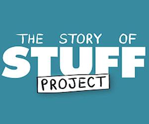 The Story of Stuff: Blue Logo